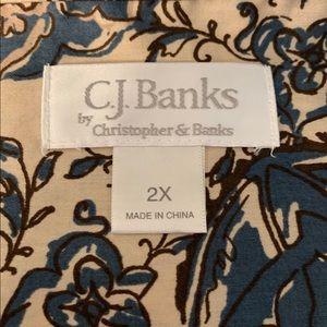 CJ Banks Tops - Pretty NWOT C.J. Banks Blouse 💕